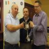 John Fitzgerald being Presented with The Limerick Tumbler Cup From Dom Byrne & Kevin Kelly